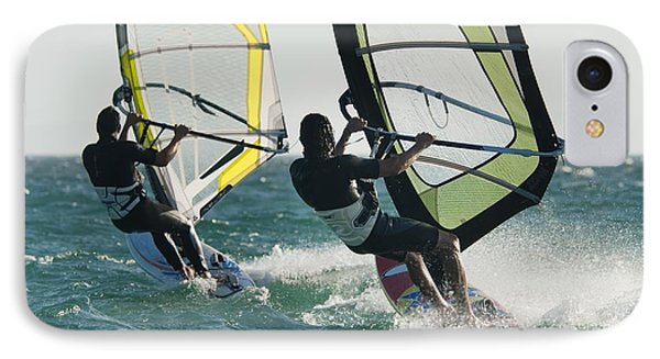 Windsurfing Tarifa, Cadiz, Andalusia IPhone Case by Ben Welsh