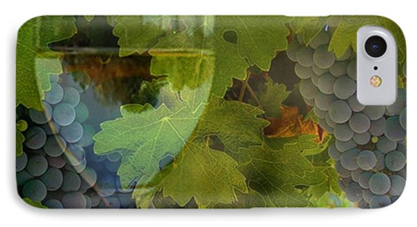 Wine Phone Case by Stephanie Laird