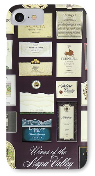 Wines Of The Napa Valley - Series 1 IPhone Case