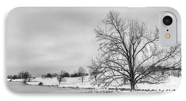 Winter In Kentucky IPhone Case by Wendell Thompson