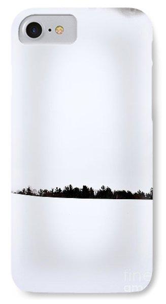 Winter Minimalism Phone Case by Edward Fielding