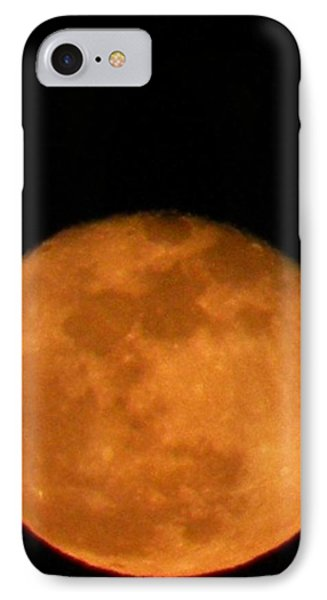 Winter Moon IPhone Case by Carlee Ojeda