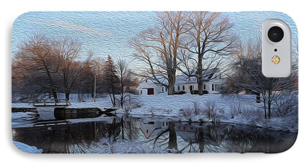 Winter Reflection IPhone Case by Jewels Blake Hamrick
