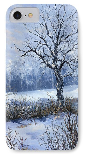 IPhone Case featuring the painting Winter Slumber by Lynne Wright