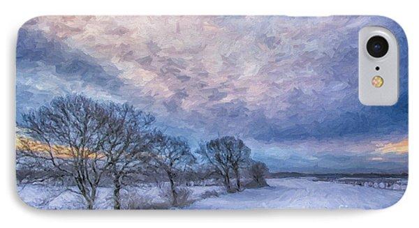 Winter Sunrise IPhone Case by Antony McAulay