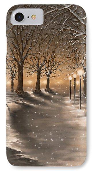 Winter IPhone Case by Veronica Minozzi