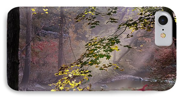Wissahickon Autumn Phone Case by Bill Cannon