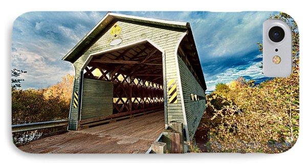 Wooden Covered Bridge  Phone Case by Ulrich Schade