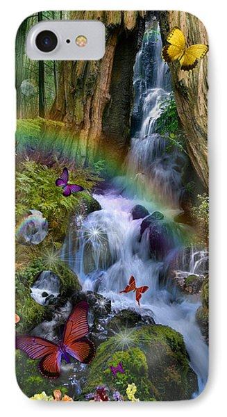 Woodland Forest Fairyland Phone Case by Alixandra Mullins