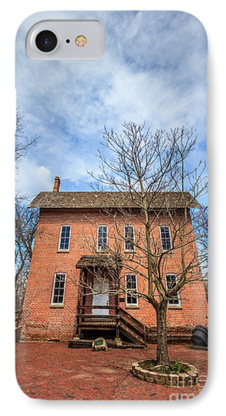 Wood's Grist Mill In Deep River County Park IPhone Case by Paul Velgos