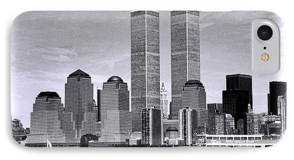 World Trade Center 3 IPhone Case by Allen Beatty