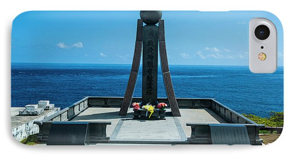 World War II Memorial At The Banzai IPhone Case by Michael Runkel