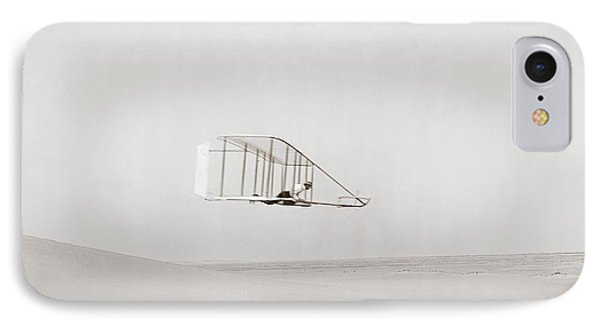 Wright Brothers Kitty Hawk Glider IPhone Case