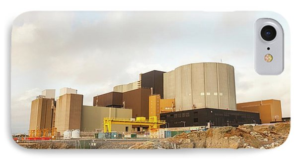 Wylfa Nuclear Power Station IPhone Case by Ashley Cooper