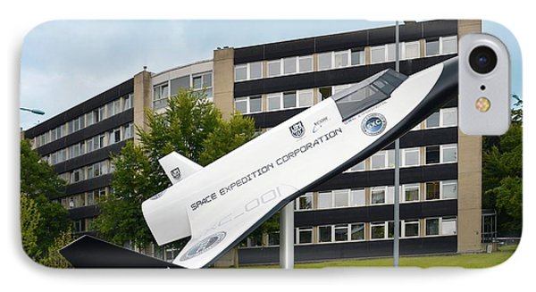 Xcor Lynx Commercial Rocketplane IPhone Case by Detlev Van Ravenswaay