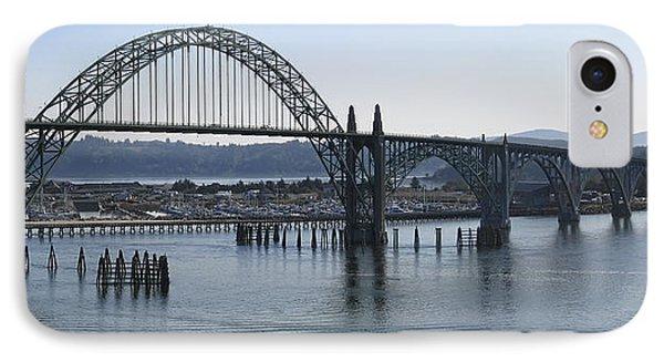 Yaquina Bay Bridge - Newport Oregon IPhone Case