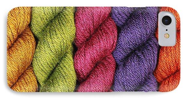 Yarn With A Twist IPhone Case by Jim Hughes