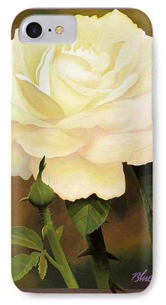 Yellow Rose IPhone Case by Blue Sky