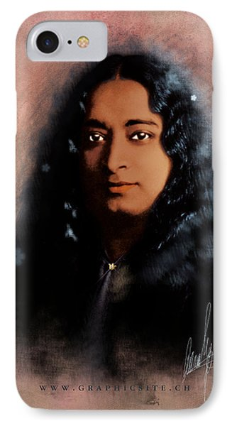 Yogananda Phone Case by Graphicsite Luzern