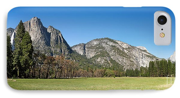 Yosemite Meadow Panorama IPhone Case by Jane Rix