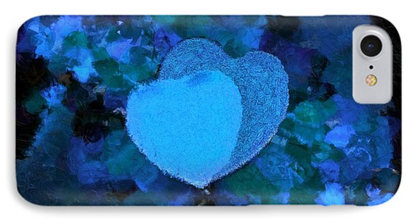 You Changed My Life Blue IPhone Case by Holley Jacobs