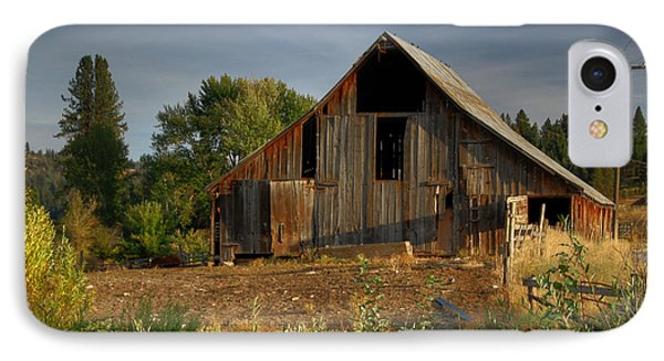 IPhone Case featuring the photograph Yourn Barn by Sam Rosen