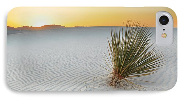 IPhone Case featuring the photograph Yucca Plant At White Sands by Alan Vance Ley