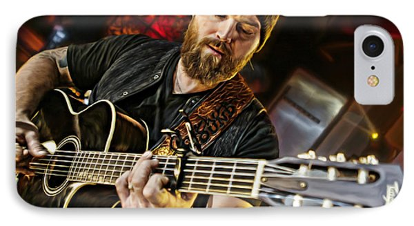 Zac Brown IPhone Case by Don Olea
