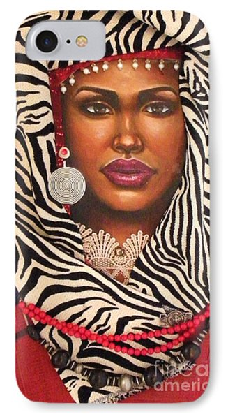 Red IPhone Case by Alga Washington