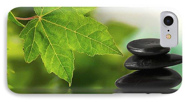Zen Stones On Water IPhone Case