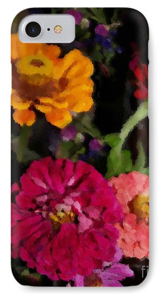 Zinnias In July IPhone Case
