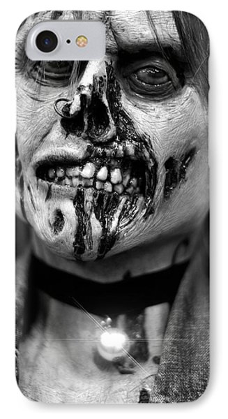 zombie face Carnen IPhone Case by Tommytechno Sweden