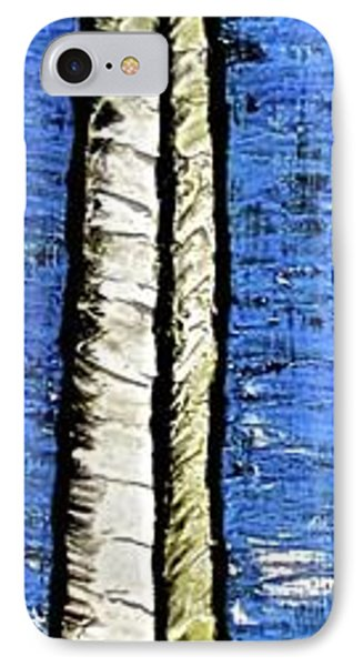 IPhone Case featuring the painting 10-001 by Mario Perron