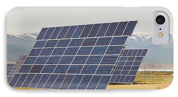 A Photo Voltaic Solar Power Station IPhone Case by Ashley Cooper