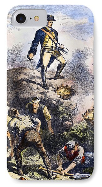 Battle Of Bunker Hill, 1775 IPhone Case by Granger
