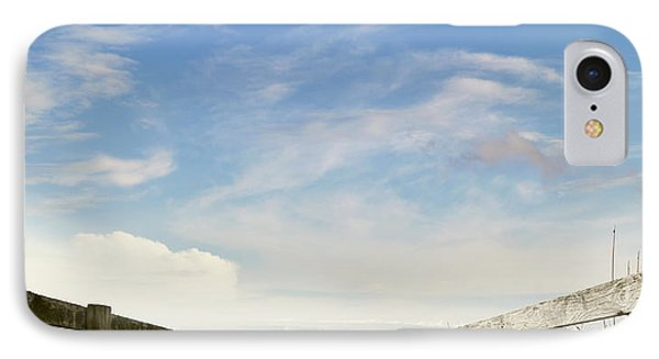 Beach View IPhone Case by Les Cunliffe