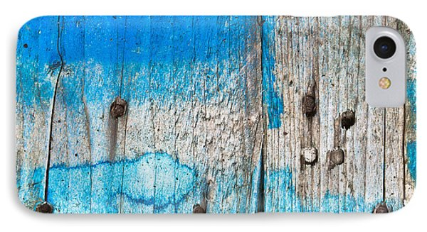 Blue Wood IPhone Case by Tom Gowanlock