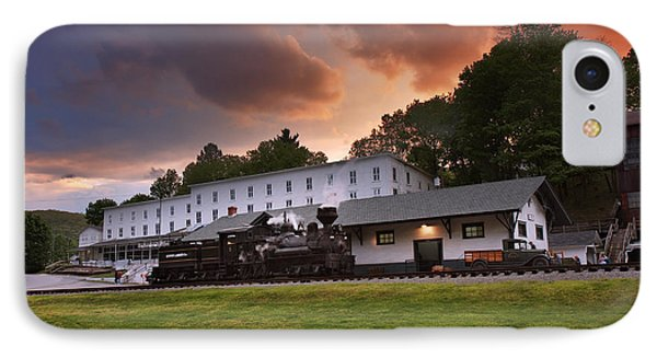 Cass Scenic Railroad IPhone Case by Mary Almond