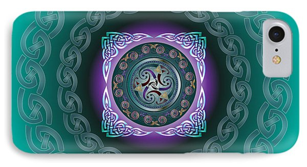 Celtic Pattern IPhone Case by Ireland Calling