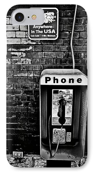10 Cent Phone Call IPhone Case by Greg Jackson