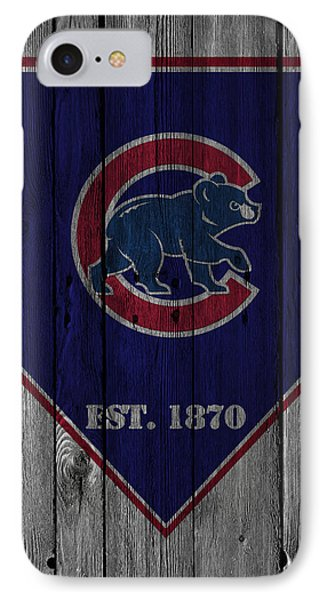 Chicago Cubs IPhone 7 Case by Joe Hamilton