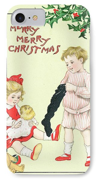 Christmas Card Phone Case by English School