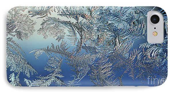 Frost On A Windowpane Phone Case by Thomas R Fletcher