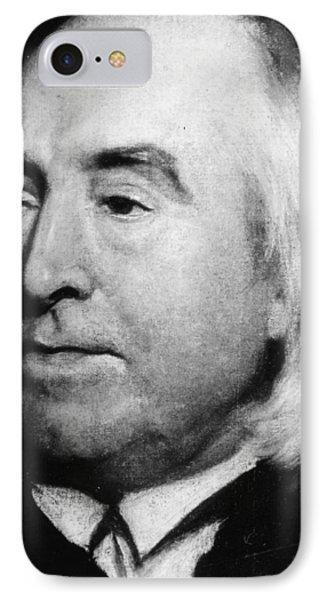 Jeremy Bentham (1748-1832) IPhone Case by Granger
