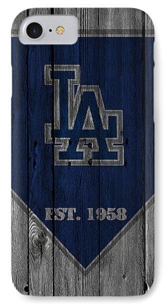 Los Angeles Dodgers IPhone Case by Joe Hamilton