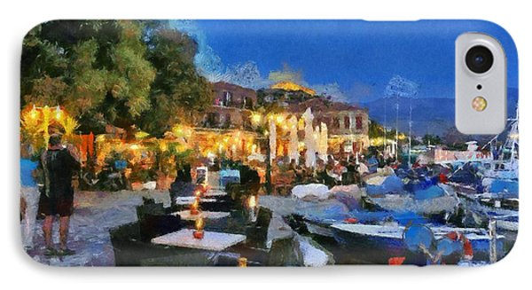 Molyvos Town In Lesvos Island Phone Case by George Atsametakis