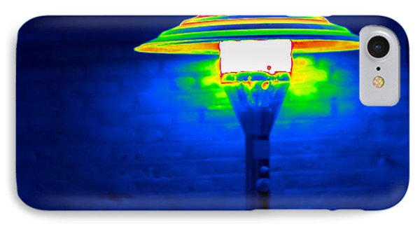 Patio Heater, Thermogram IPhone Case by Tony McConnell