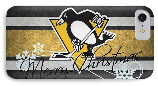 Pittsburgh Penguins IPhone Case by Joe Hamilton