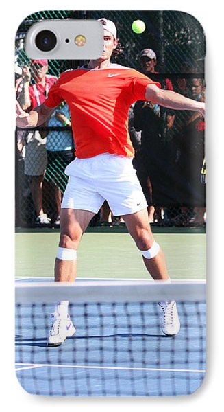 Rafael Nadal IPhone Case by James Marvin Phelps