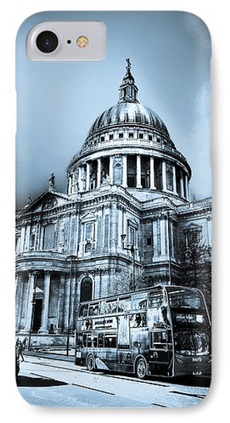 St Paul's Cathedral London Art Phone Case by David Pyatt
